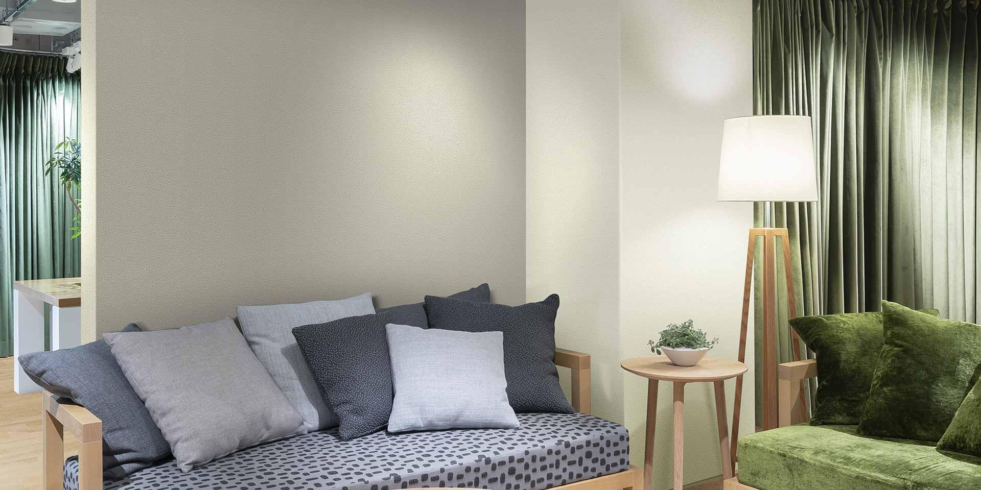 空気を洗う壁紙 半永久サイクル消臭壁紙 ルノン株式会社